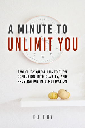 "Cover photo of ""A Minute To Unlimit You"" by PJ Eby"